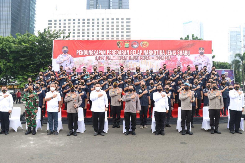 Kepolisian Republik Indonesia Akan Menerapkan Sistem Pre-Emtif Strike Untuk Menekan Peredaran Narkoba