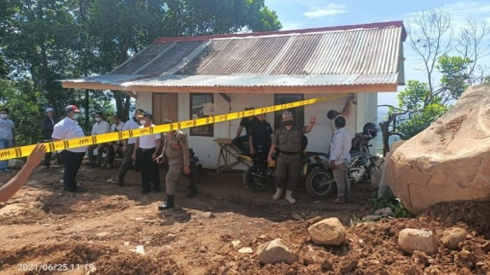 Galian Tanah Ilegal Sukamakmur di Segel Satpol PP Kabupaten Bogor