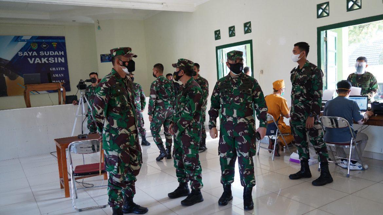 Korem 061/Sk Dukung Program Pemerintah 2 Juta Vaksin