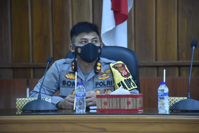 Sukseskan Capaian 70% Vaksin Warga Indonesia, Polres Ciamis Bantu Pemkab Pangandaran Percepatan Vaksin