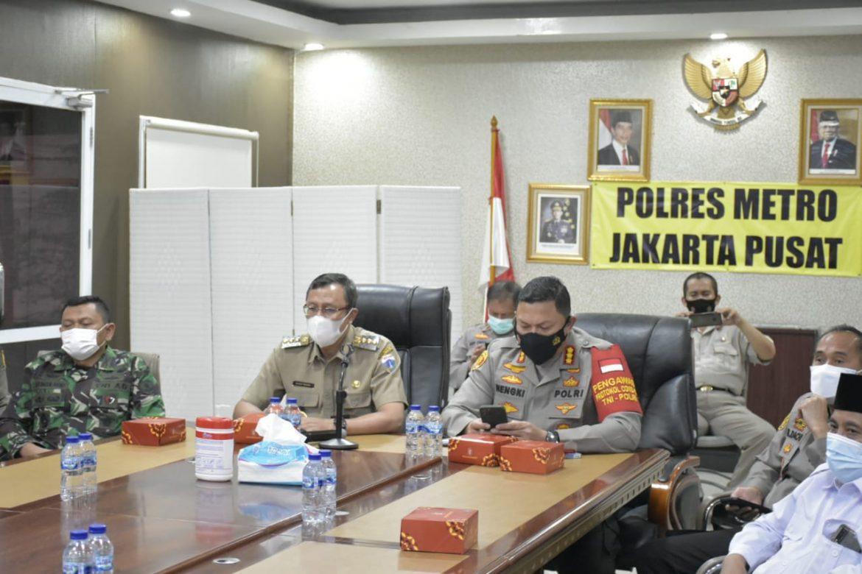 Tiga Pilar Kota Administrasi Jakarta Pusat Kordinasi Perayaan Idul Adha di Masa Pandemi Covid 19