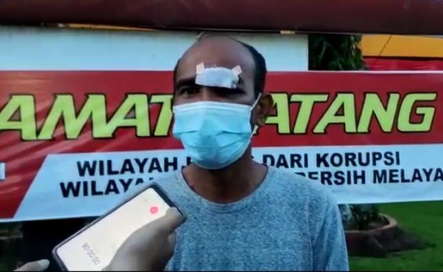 Awaludin Rao yang Viral di Medsos, Akhirnya Minta Maaf  Mendatangi Polresta Padang