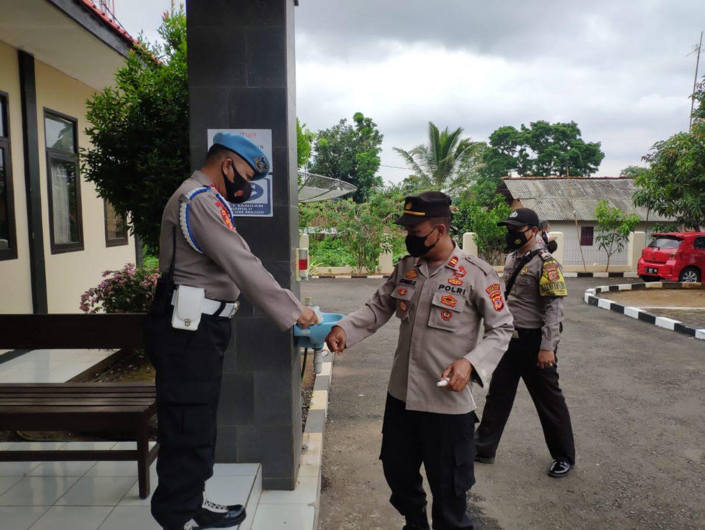 Polsek Pataruman penerapan patuhi prokes yang ketat diinternal Polri