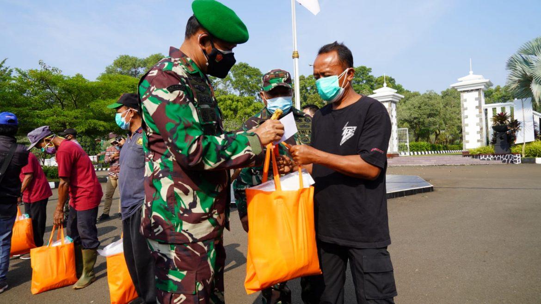 200 Petugas Pemulasaraan Jenazah Covid 19 Kab Bogor Bangga Bertemu Danrem 061/Sk