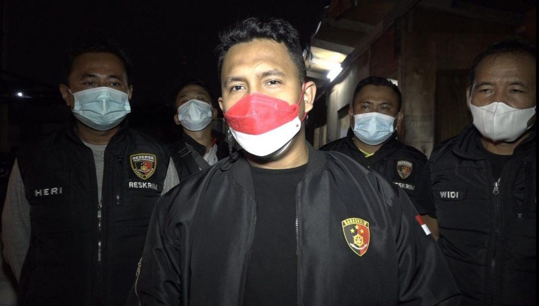 Polsek Kembangan Melakukan Olah TKP Kasus Pemerasan Di Salah Satu Proyek Kawasan Joglo Jakarta barat