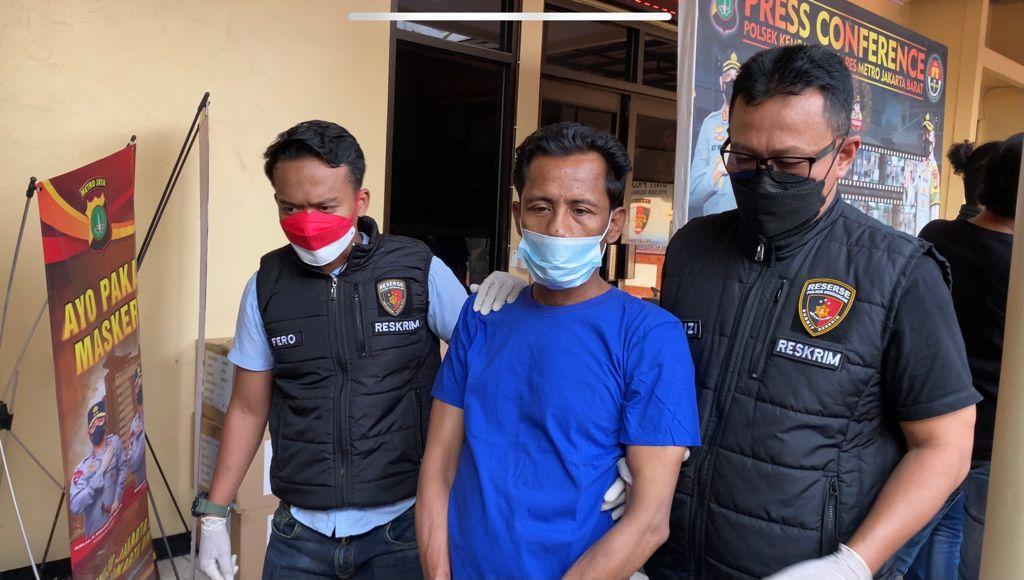 Pelaku Pemerasan Di Sebuah Proyek Pembangunan Perkantoran Di Joglo Kembangan Jakarta Barat Akhirnya Ditangkap Polisi
