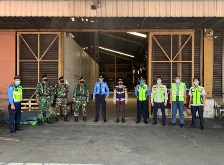 Polresta Bandara Soetta Bersama Instansi Terkait Melaksanakan Apel Gabungan Di Sekitar Area Cargo Bandara Soetta