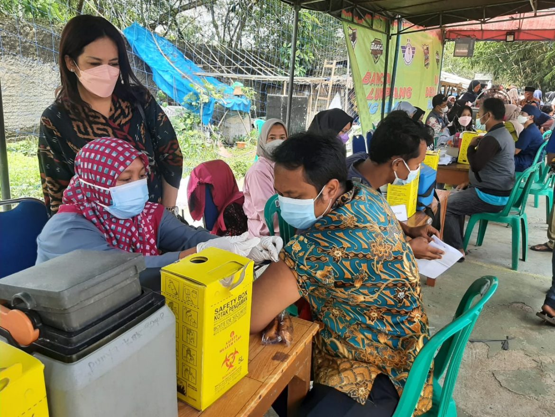 DPP GMTI Gandeng Pemerintah Desa Lumpang Untuk Vaksinasi Sinovac 2.500 Dosis Masyarakat