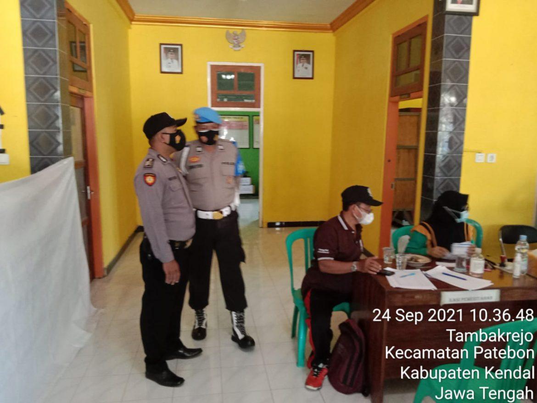 Kapolsek Patebon Siapkan 814 Vaksin untuk Murid Pondok dan Siswa-siswi SMK Serta ODGJ