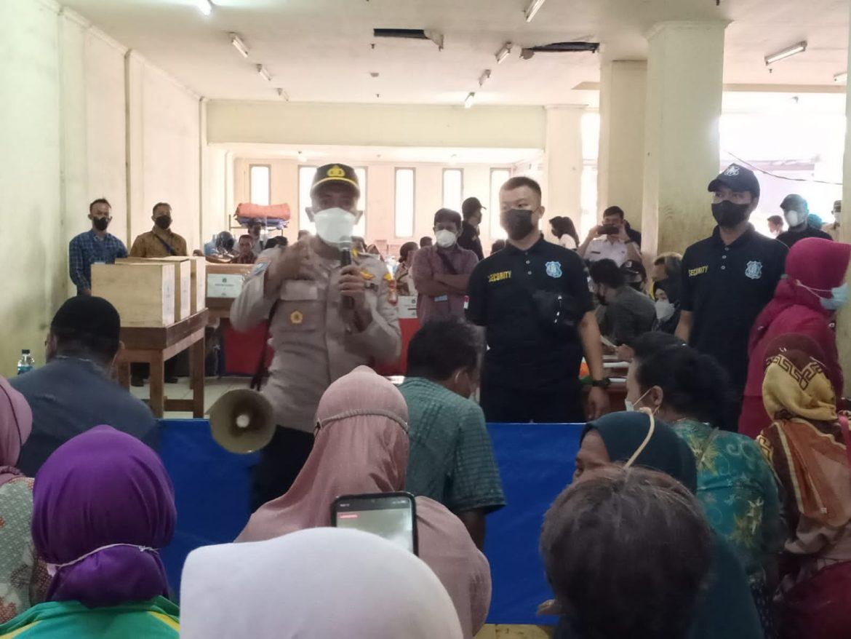 Pemilihan Ketua Paguyuban Pedagang Pasar Rawa Buaya di Lokasi Binaan PPKUKM