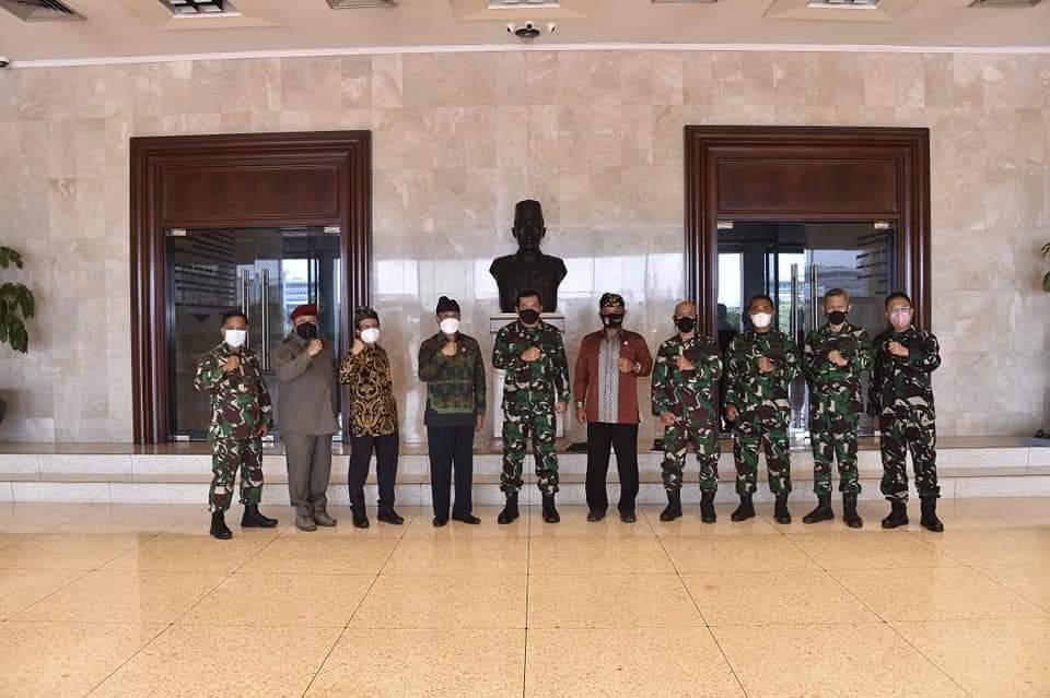 Kasum TNI Terima Audiensi Ketua Mahasabha PHDI 2021