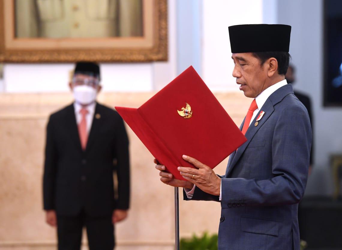 Presiden Jokowi Lantik Dewan Pengarah Badan Riset dan Inovasi Nasional