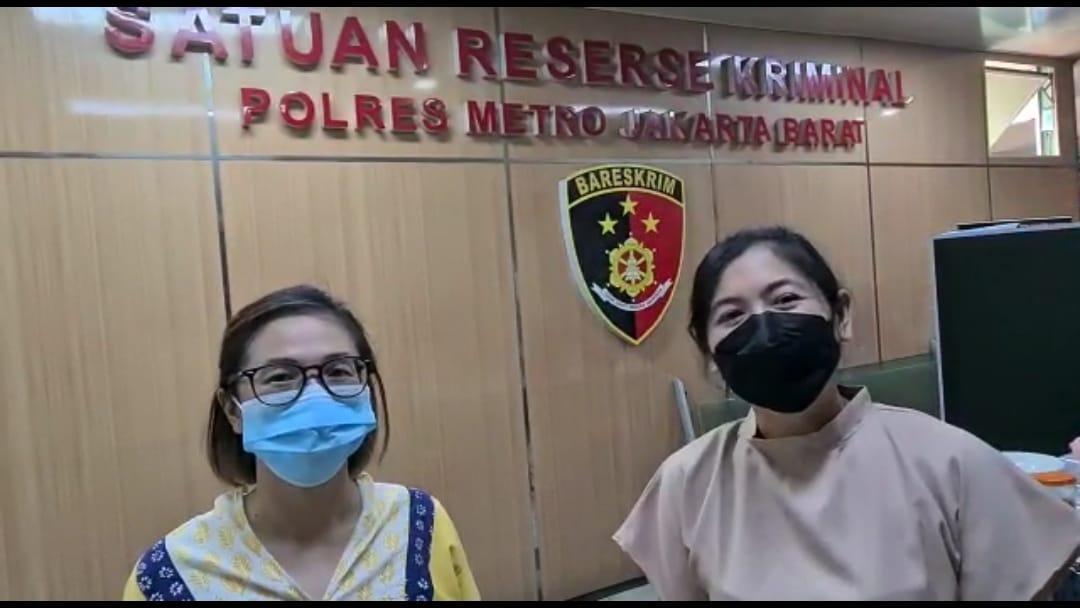 Sejumlah Penggiat Pelaku (UMKM) Di Wilayah Jakarta Barat Mendatangi Mako Polres Metro Jakarta Barat