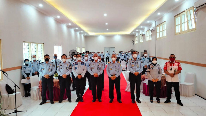 Lapas Pemuda Kelas II A Tangerang Menjadi Tuan Rumah Workshop Penguatan (SATOPS PATNAL) UPT Pemasyarakatan Se -Tangerang Raya