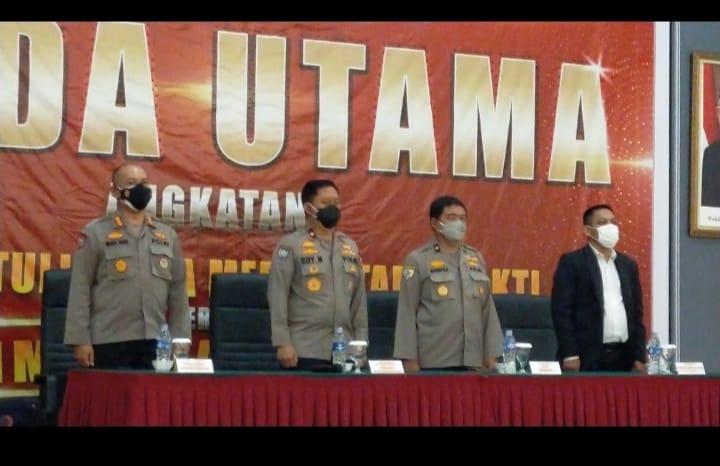 Brigadir Jenderal Polisi Edy Murbowo.,SIK.,Msi. membuka pelatihan satpam Gada Utama PT. Khatulistiwa Media Utama Sakti di Batam.