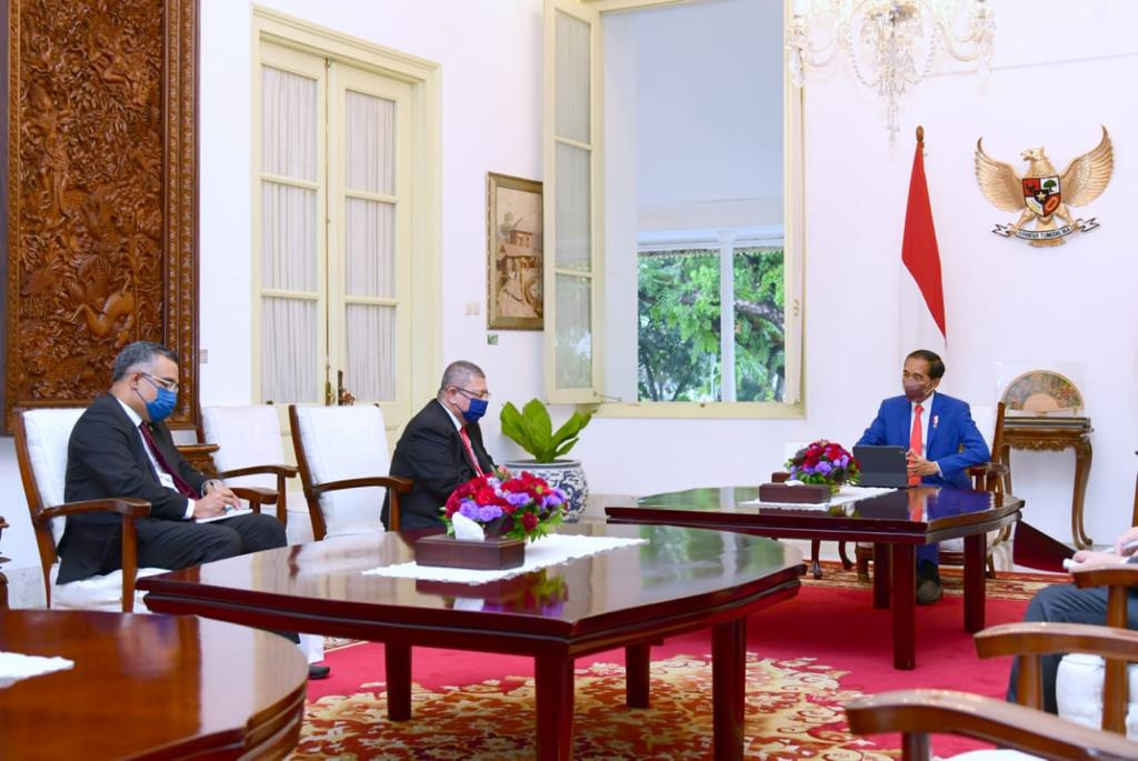 Presiden Menerima Kunjungan Kehormatan Menlu Malaysia